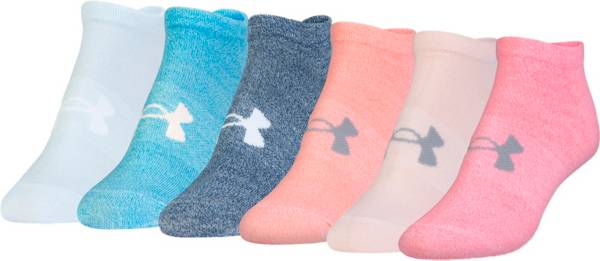 Under Armour Women's No Show Socks - 6 Pack product image