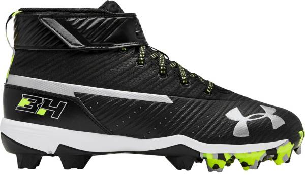 Under Armour Kids' Harper 3 Mid Baseball Cleats product image