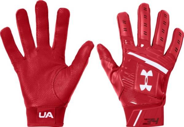 Under Armour mens Harper Hustle Baseball Batting Gloves
