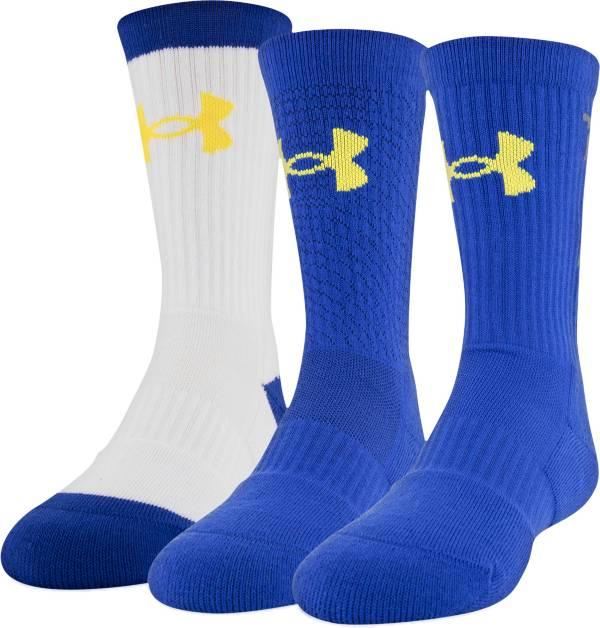 Under Armour Kids' SC30 Phenom Crew Socks - 3 Pack product image