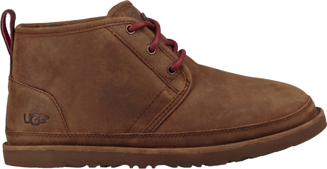 bb5fa9f8a89 UGG Men's Neumel Waterproof Sheepskin Chukka Boots