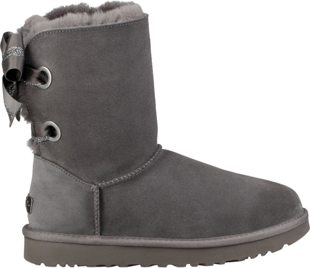 477931f3a9d UGG Women's Customizable Bailey Bow Short Casual Boots