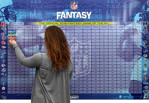 2018 nfl fantasy football draft kit