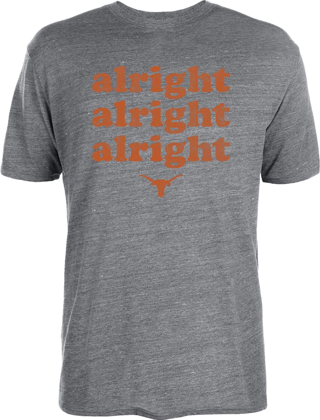 the latest 36cd2 22370 ... Texas Longhorns Grey  Alright Alright Alright  Tri-Blend T-Shirt.  noImageFound. 1