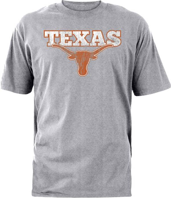 University of Texas Authentic Apparel Men's Texas Longhorns Grey Dedicated T-Shirt product image