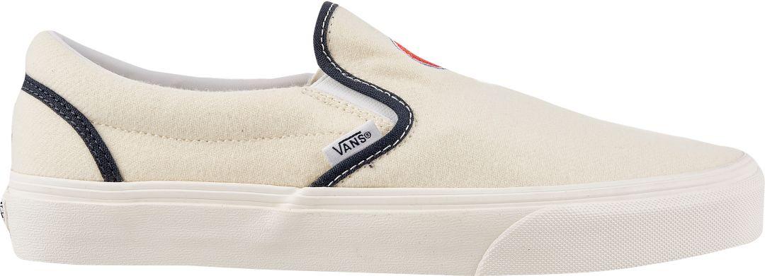 4d06fa52fd Vans Men s Slip-On MLB Cubs Shoes 1
