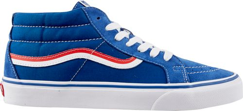 Vans Men s SK8-Mid Reissue MLB Cubs Shoes  275d136b52