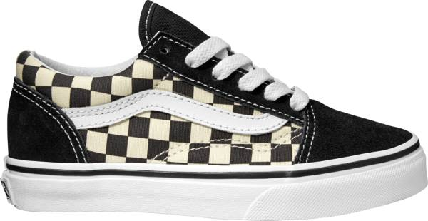 Vans Kids' Preschool Check Old Skool Shoes product image