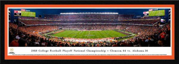 Blakeway Panoramas 2018 National Champions Clemson Tigers Framed Panorama Poster product image
