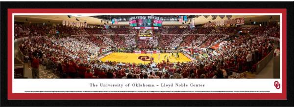 Blakeway Panoramas Oklahoma Sooners Framed Panorama Poster product image