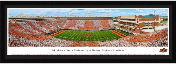 Blakeway Panoramas Oklahoma State Cowboys Framed Panorama Poster product image