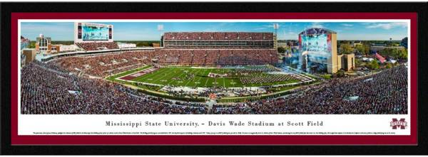 Blakeway Panoramas Mississippi State Bulldogs Framed Panorama Poster product image