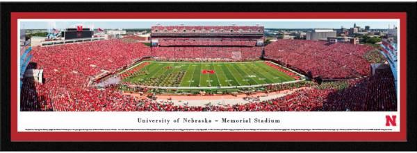 Blakeway Panoramas Nebraska Cornhuskers Framed Panorama Poster product image