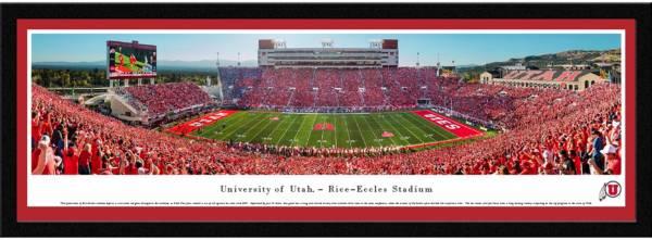 Blakeway Panoramas Utah Utes Framed Panorama Poster product image