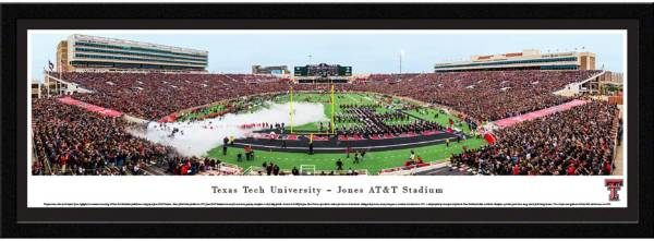 Blakeway Panoramas Texas Tech Red Raiders Framed Panorama Poster product image