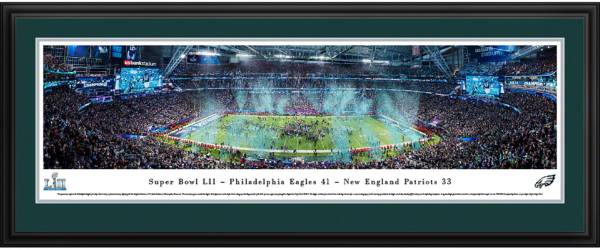 Blakeway Panoramas Super Bowl LII Champions Philadelphia Eagles Deluxe Framed Panorama Poster product image