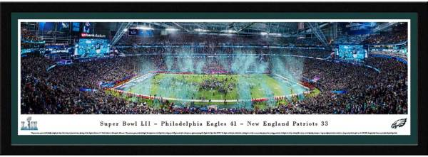 Blakeway Panoramas Super Bowl LII Champions Philadelphia Eagles Select Framed Panorama Poster product image