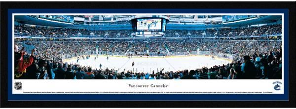 Blakeway Panoramas Vancouver Canucks Framed Panorama Poster product image