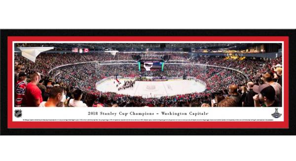 Blakeway Panoramas 2018 Stanley Cup Champions Washington Capitals Select Framed Panorama Poster product image