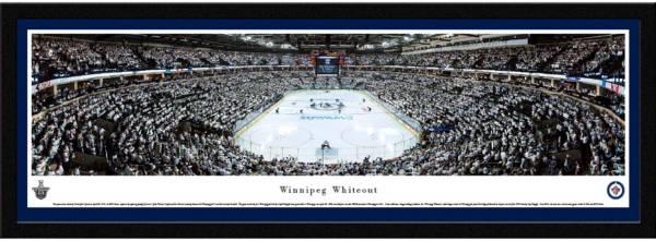 Blakeway Panoramas Winnipeg Jets Framed Panorama Poster product image
