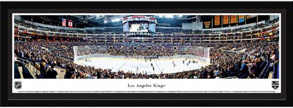 Blakeway Panoramas Los Angeles Kings Framed Panorama Poster product image