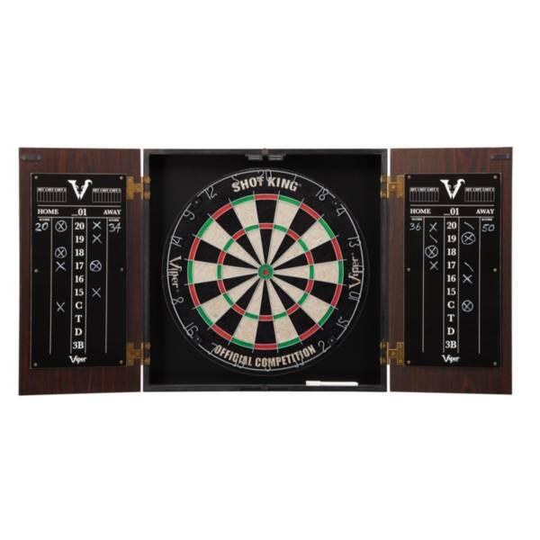 Viper Stadium Dartboard Cabinet with Shot King Sisal Dartboard product image