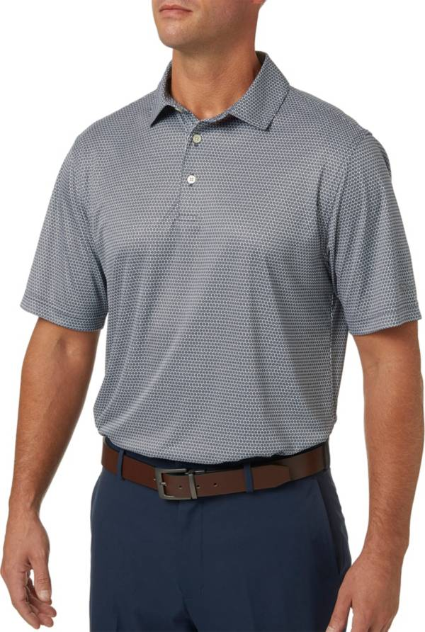 Walter Hagen Men's Diamond Tile Print Golf Polo product image