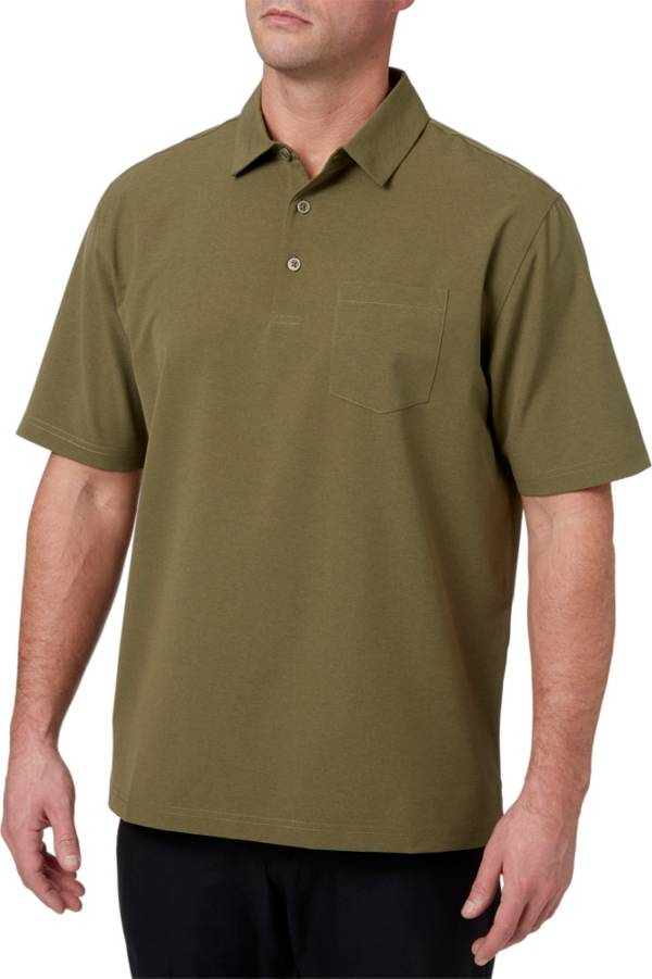 Walter Hagen Men's Lifestyle Stretch Woven Golf Polo product image