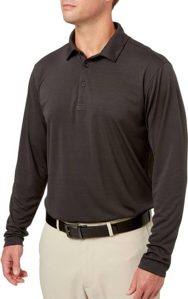 Walter Hagen Men's Long Sleeve Heather Golf Polo product image
