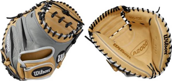 Wilson 33'' A2000 SuperSkin Series Pedroia Fit Catcher's Mitt product image