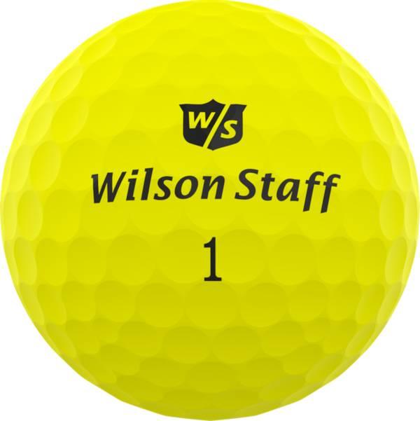 Wilson Staff Duo Professional Golf Balls – Matte Yellow product image
