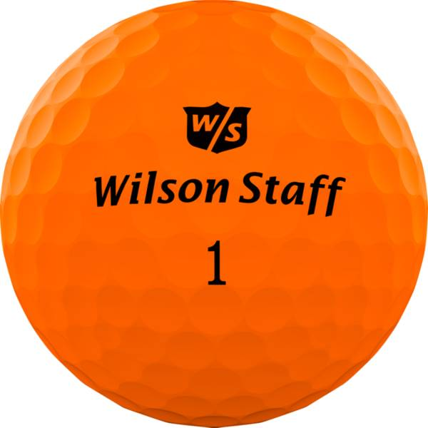Wilson Staff Duo Professional Golf Balls – Matte Orange product image