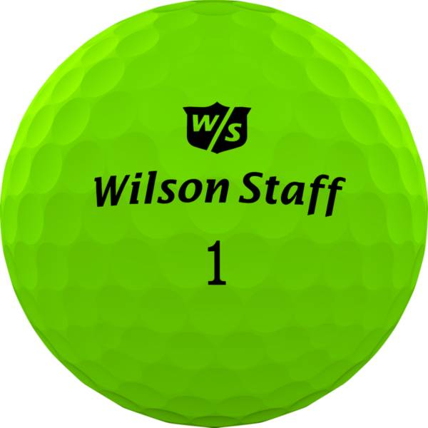 Wilson Staff Duo Professional Golf Balls – Matte Green product image