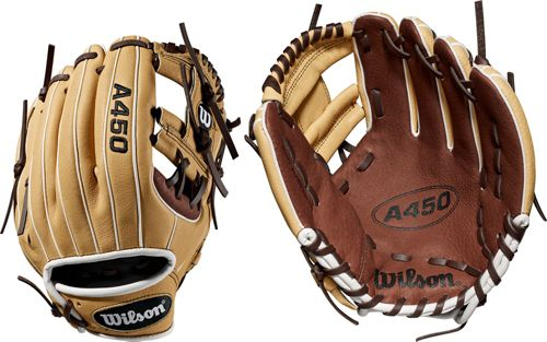55fcc20fec4 Wilson 10.75   Youth A450 Series Glove 2019. noImageFound. Previous