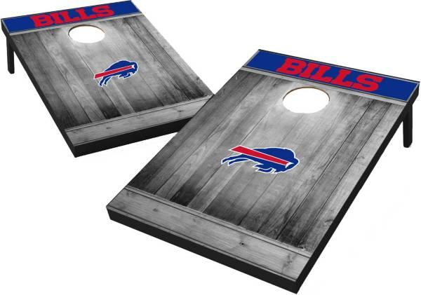Wild Sports Buffalo Bills Grey Wood Tailgate Toss product image
