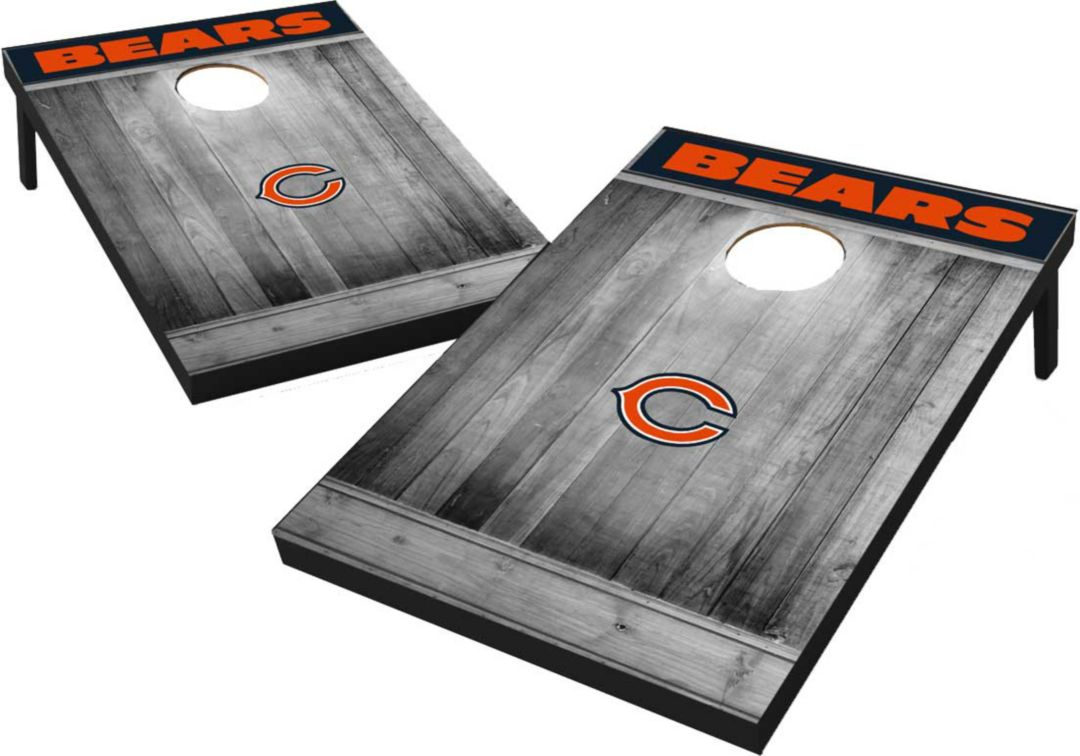 official photos 210b3 a1aae Wild Sports Chicago Bears Grey Wood Tailgate Toss