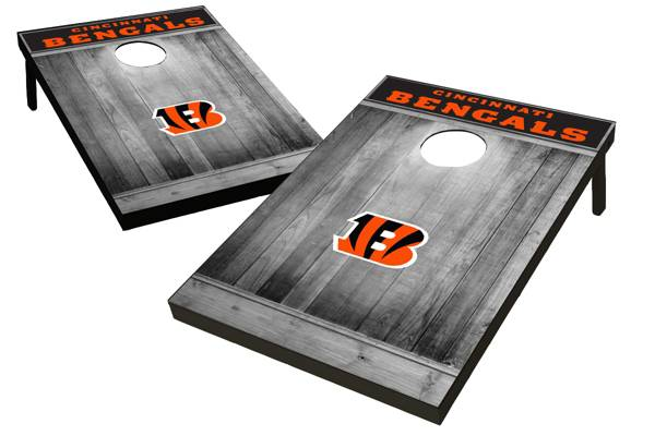 Wild Sports Cincinnati Bengals Grey Wood Tailgate Toss product image