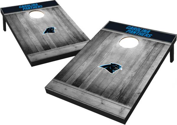 Wild Sports Carolina Panthers Grey Wood Tailgate Toss product image