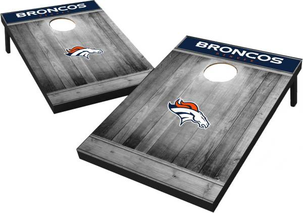 Wild Sports Denver Broncos Grey Wood Tailgate Toss product image