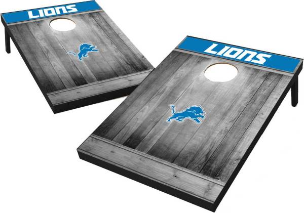 Wild Sports Detroit Lions Grey Wood Tailgate Toss product image