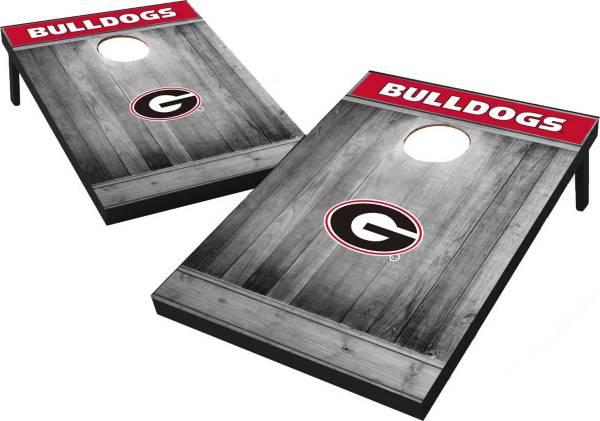 Wild Sports Georgia Bulldogs NCAA Grey Wood Tailgate Toss product image