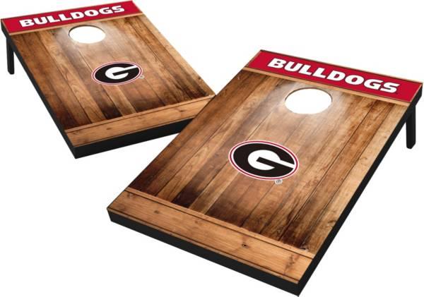 Wild Sports Georgia Bulldogs NCAA Brown Wood Tailgate Toss product image