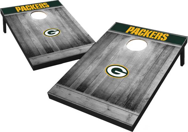 Wild Sports Green Bay Packers Grey Wood Tailgate Toss product image