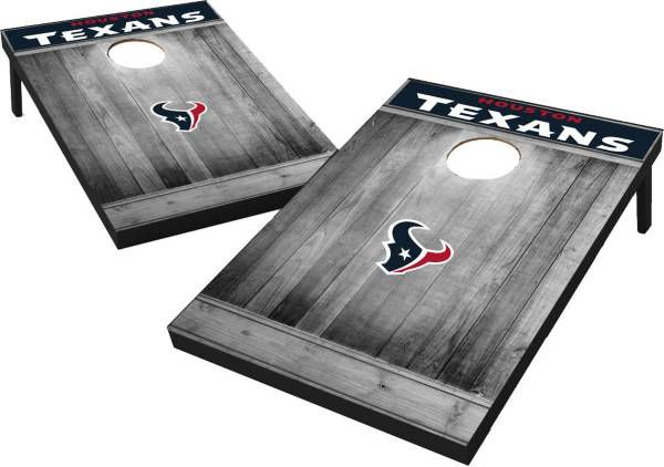 Wild Sports Houston Texans Grey Wood Tailgate Toss product image