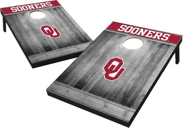 Wild Sports Oklahoma Sooners NCAA Grey Wood Tailgate Toss product image