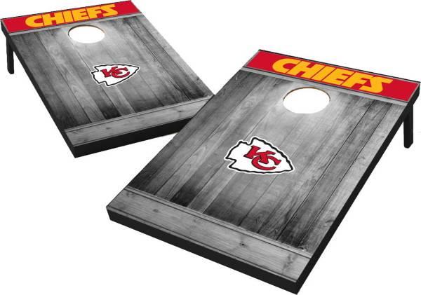 Kansas City Chiefs Grey Wood Tailgate Toss product image