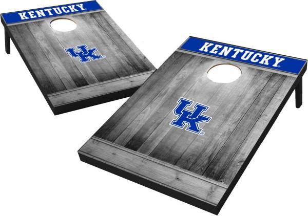 Wild Sports Kentucky Wildcats NCAA Grey Wood Tailgate Toss product image