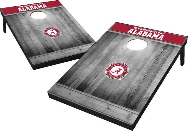 Wild Sports Alabama Crimson Tide NCAA Grey Wood Tailgate Toss product image