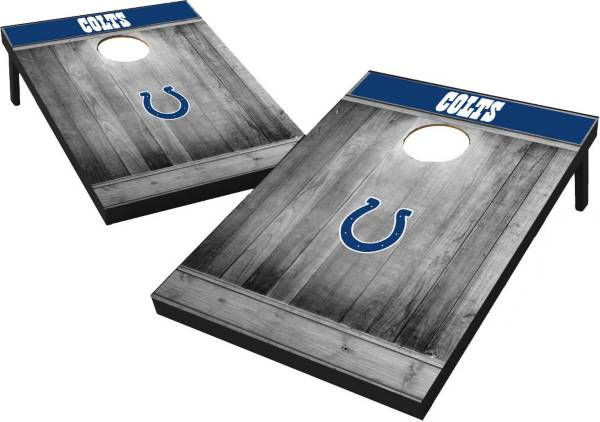 Wild Sports Indianapolis Colts Grey Wood Tailgate Toss product image