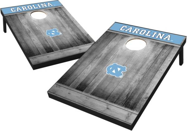 Wild Sports North Carolina Tar Heels NCAA Grey Wood Tailgate Toss product image